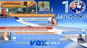 """Read more about the article """"10 μποφόρ"""" VOX 103,3 